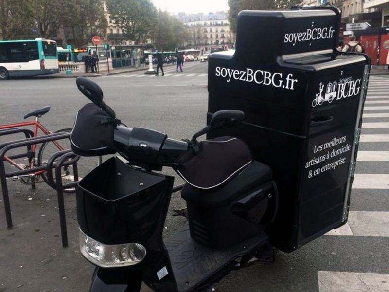 Male scooter AP